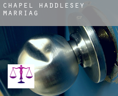 Chapel Haddlesey  marriage
