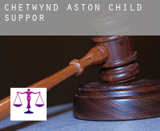 Chetwynd Aston  child support