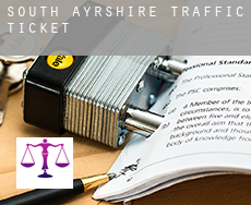 South Ayrshire  traffic tickets