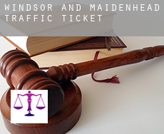 Windsor and Maidenhead  traffic tickets