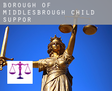 Middlesbrough (Borough)  child support