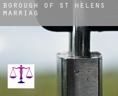 St. Helens (Borough)  marriage