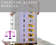 Cheriton Bishop  marriage