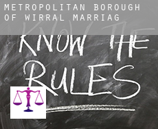 Metropolitan Borough of Wirral  marriage