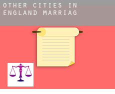 Other cities in England  marriage