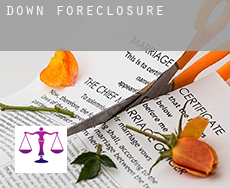 Down  foreclosures